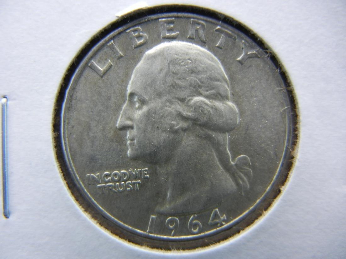 1964 D Washington Quarter