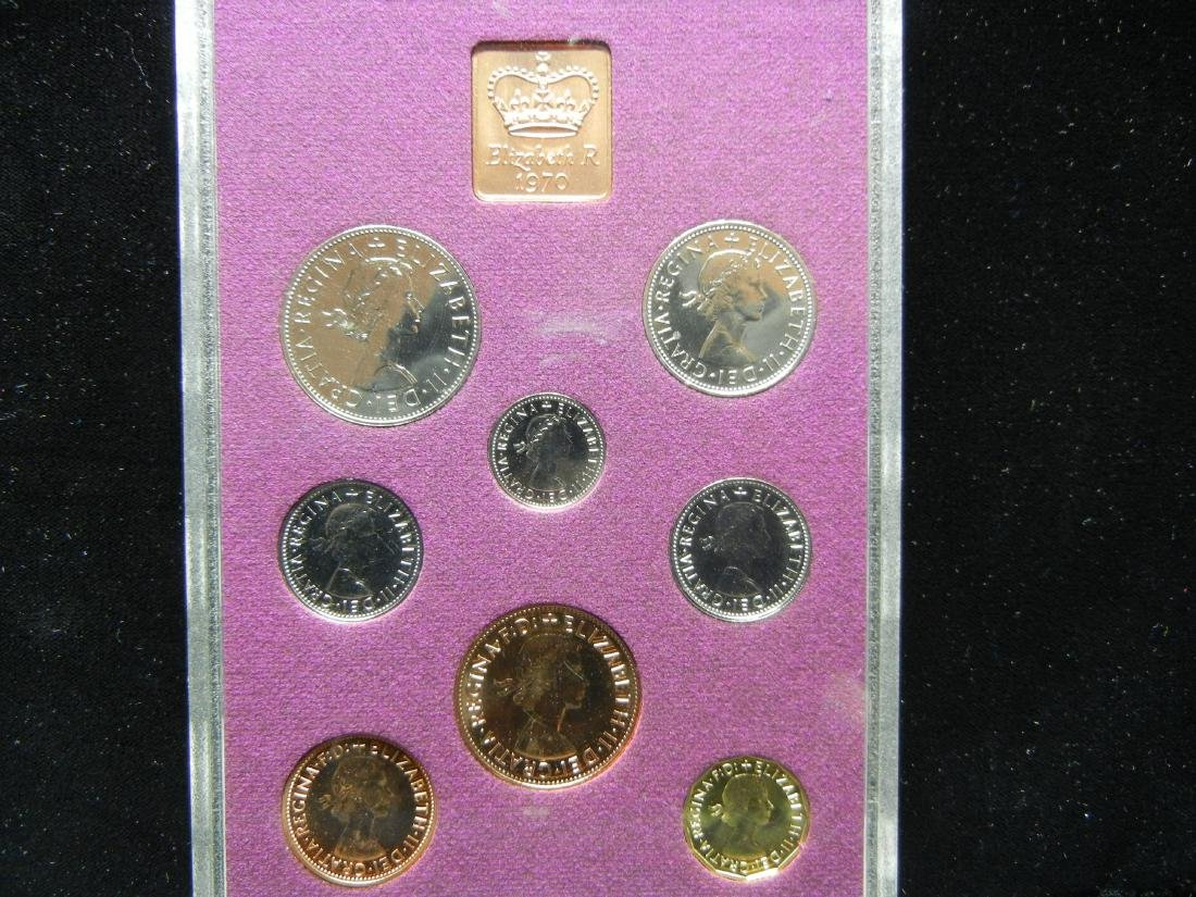 1970 British PROOF set. At least PR69! Orginal package. - 2