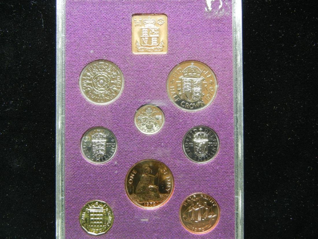 1970 British PROOF set. At least PR69! Orginal package. - 3