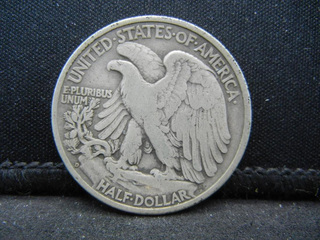 1936-D Walking Liberty Half Dollar - 2