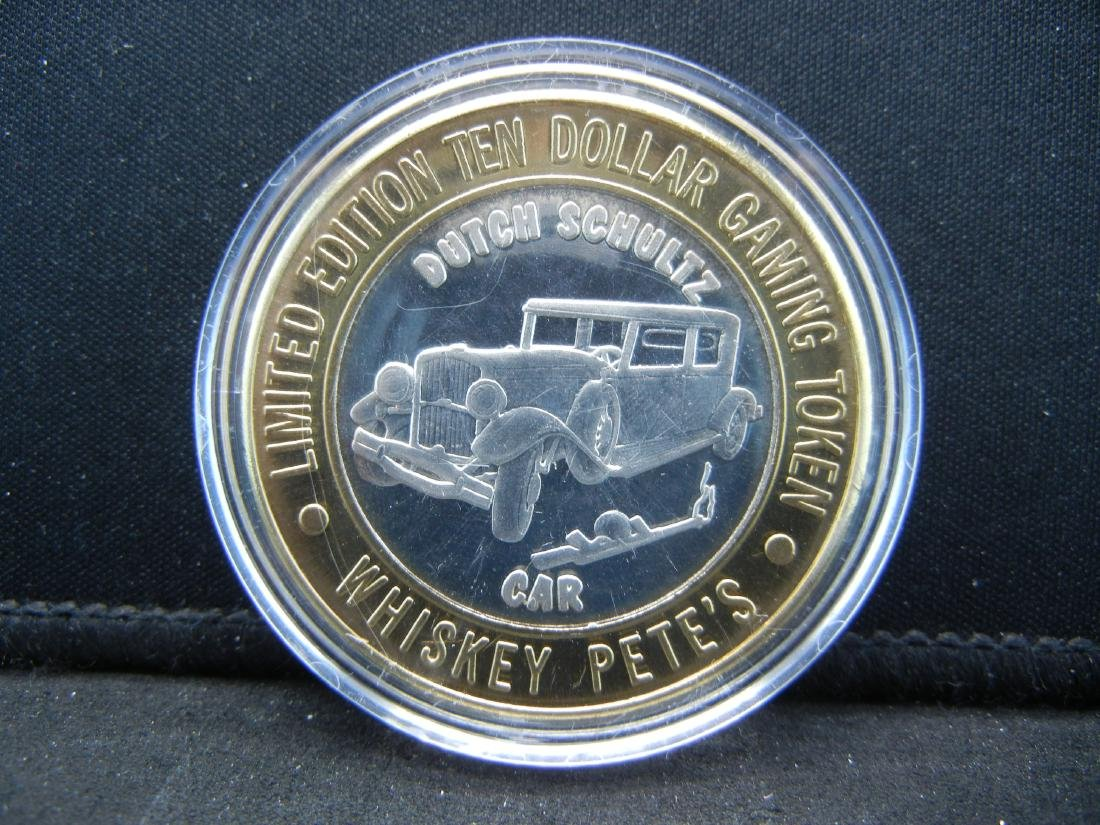 Limited Edition $10 Gaming Token Whiskey Pete's Casino
