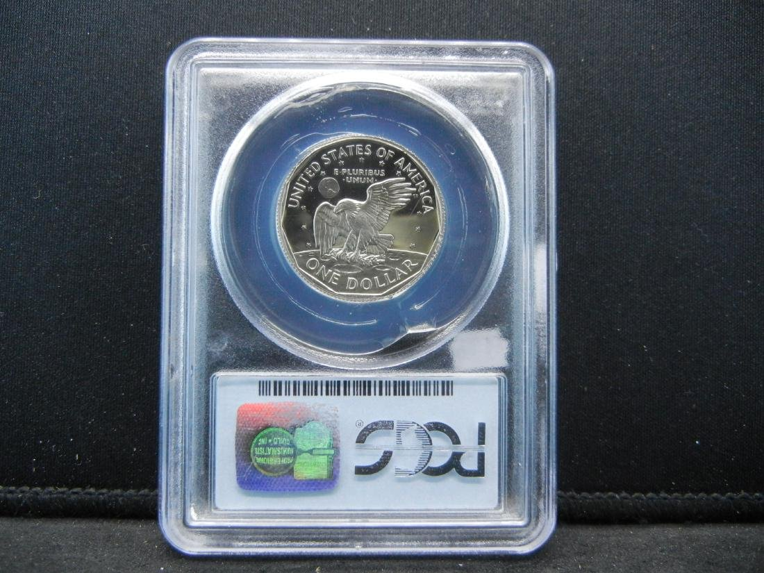 1999-P Susaan B Anthony Dollar. Graded by PCGS as PR69 - 4
