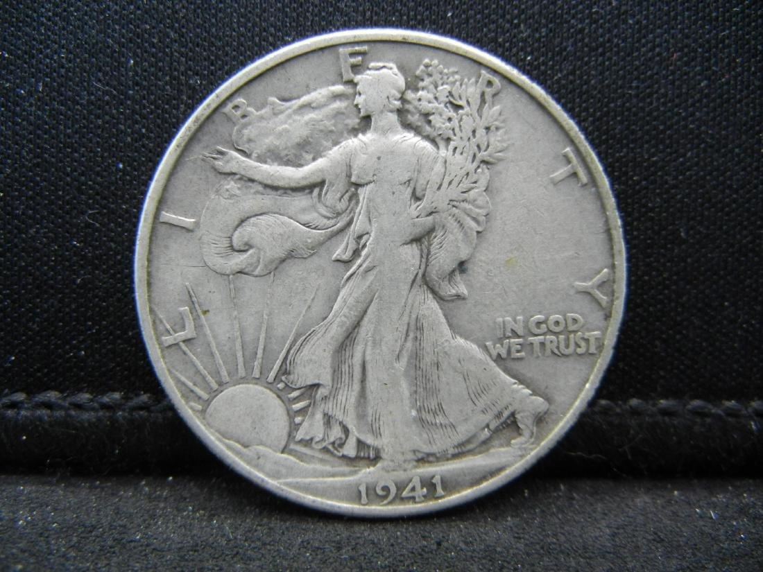 1941-D Walking Liberty Half Dollar