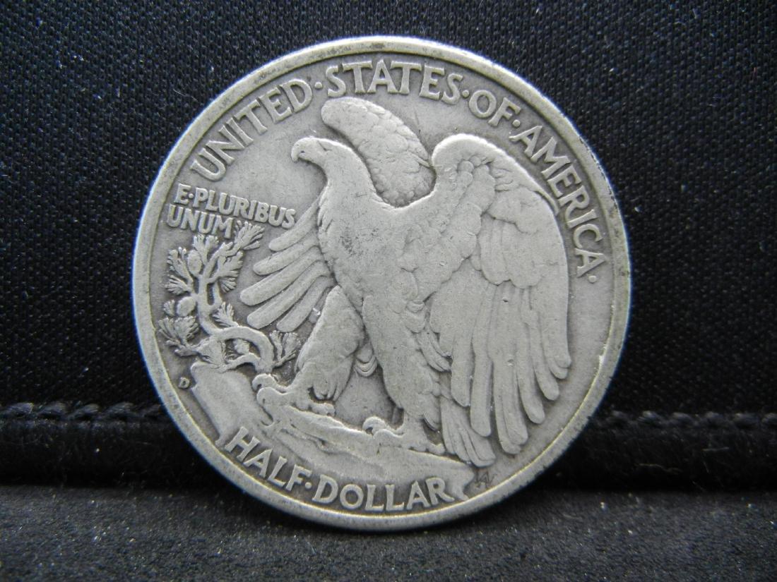 1941-D Walking Liberty Half Dollar - 2