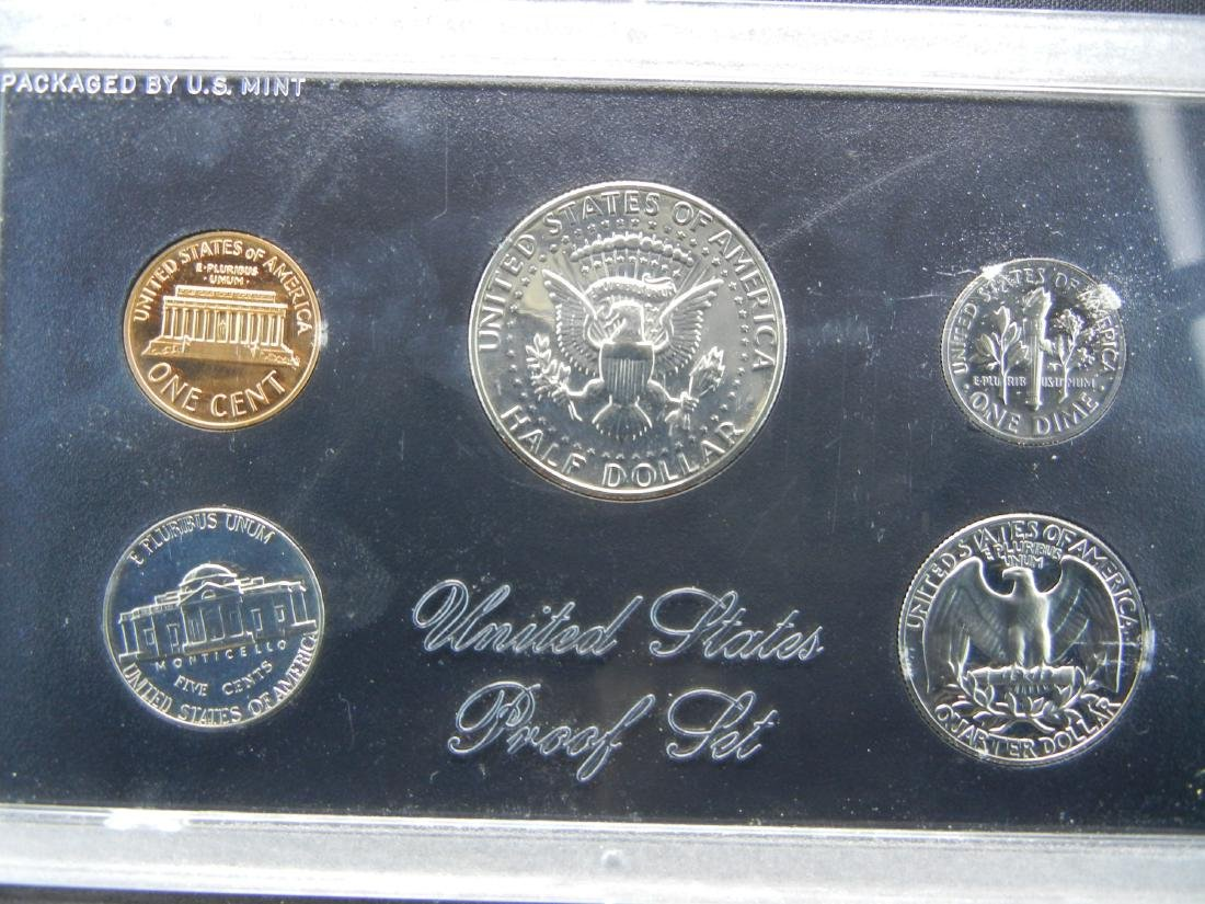 1972 United States Mint 5-Coin Proof Set With Original - 3