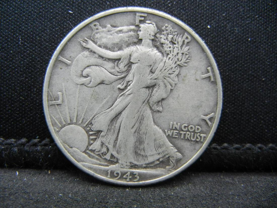 1943 Walking Liberty Half Dollar