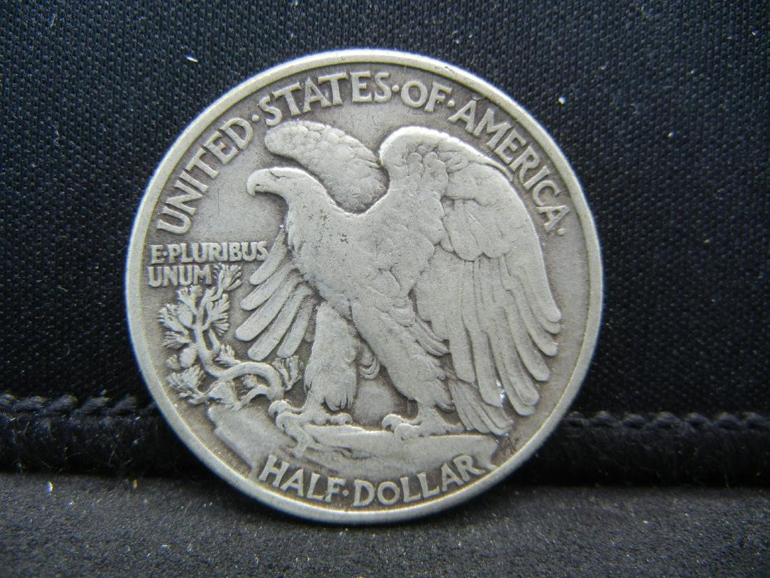 1943 Walking Liberty Half Dollar - 2