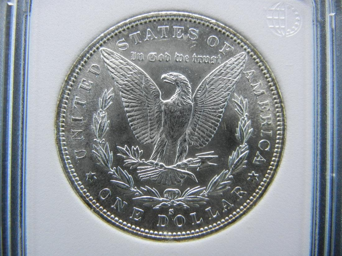 1882-S Morgan Dollar. Graded MS-65 by Numismatic Coin - 3