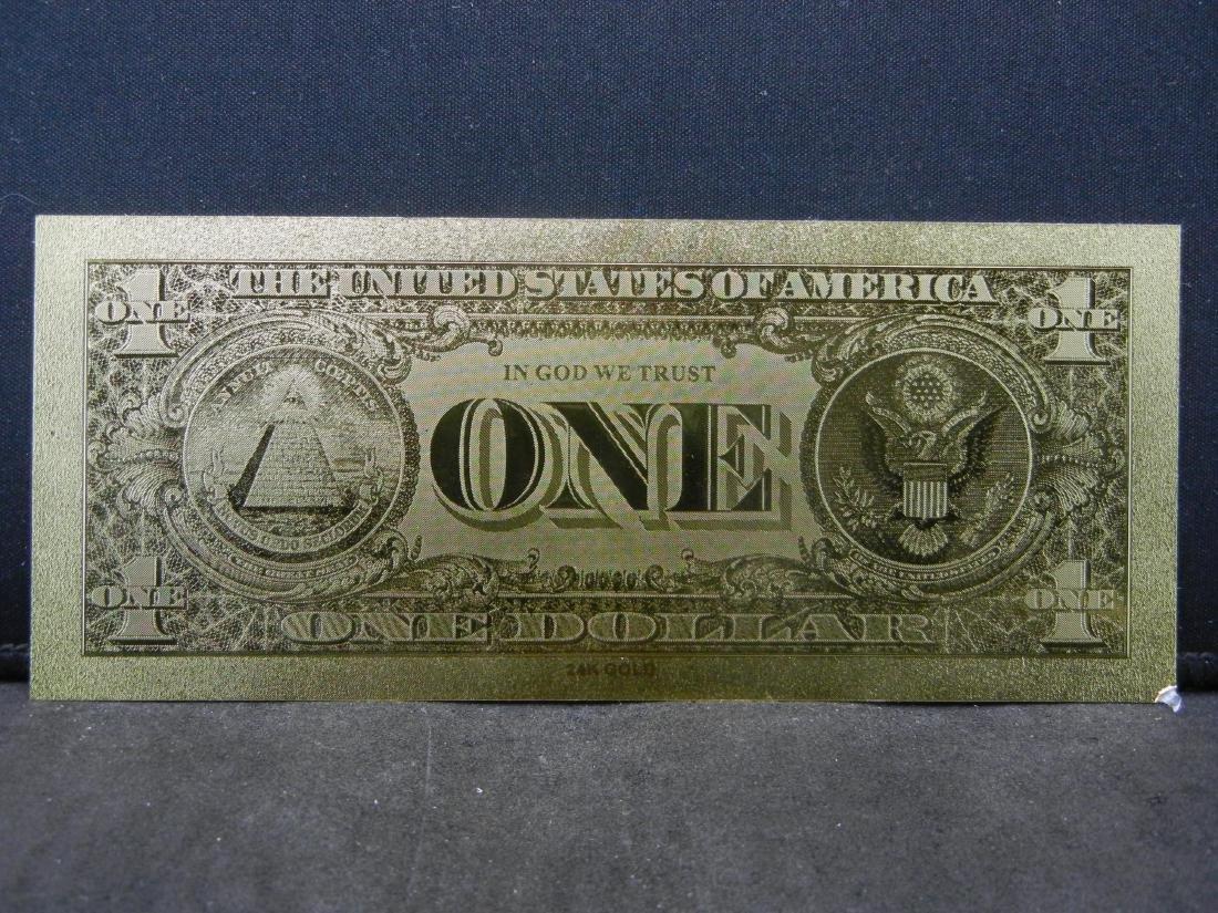 $1 & $5 Gold Foil Novelty Notes - 3