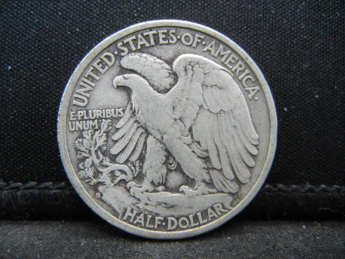 1943-S Walking Liberty Half Dollar - 2