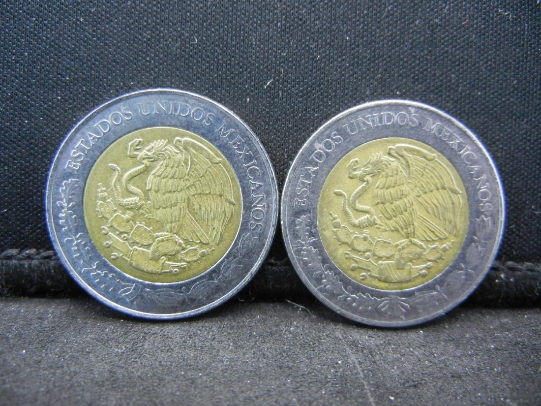 2010 5 Peso Ignacio Allende & Jose Maria Morelos y - 2