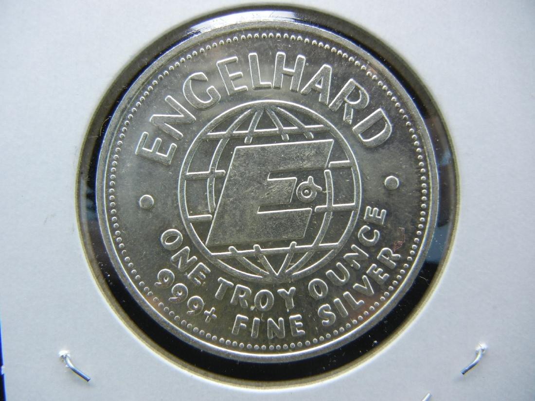1982 PROSPECTOR Engelhard 1 ounce 999 silver. BU. - 2