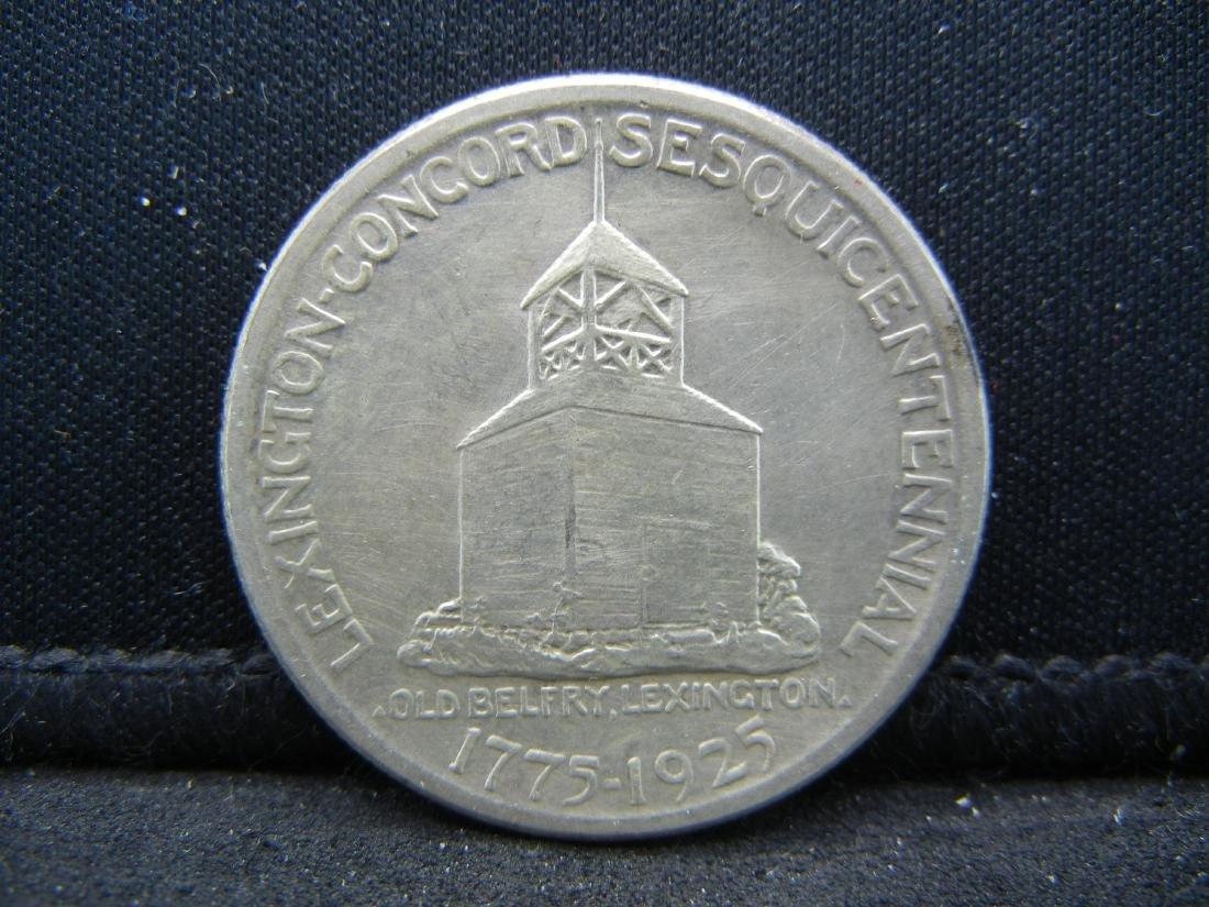 1925 Lexington-Concord Sesquentennial Comemorative Half