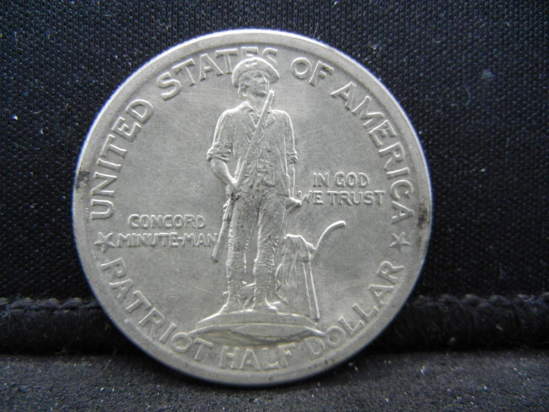 1925 Lexington-Concord Sesquentennial Comemorative Half - 2