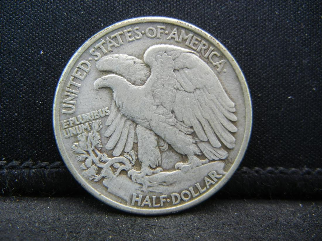 1945 Walking Liberty Half Dollar - 2