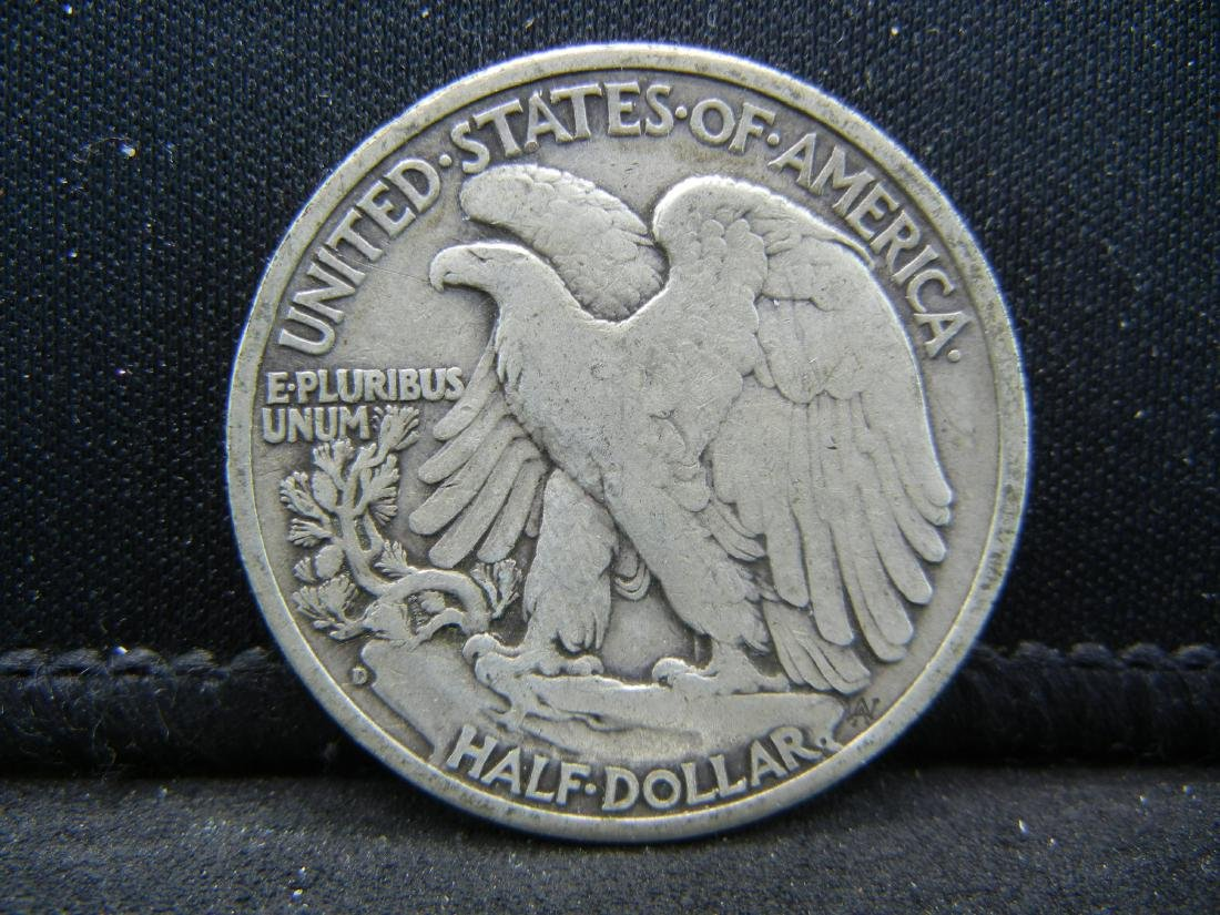 1945-D Walking Liberty Half Dollar - 2