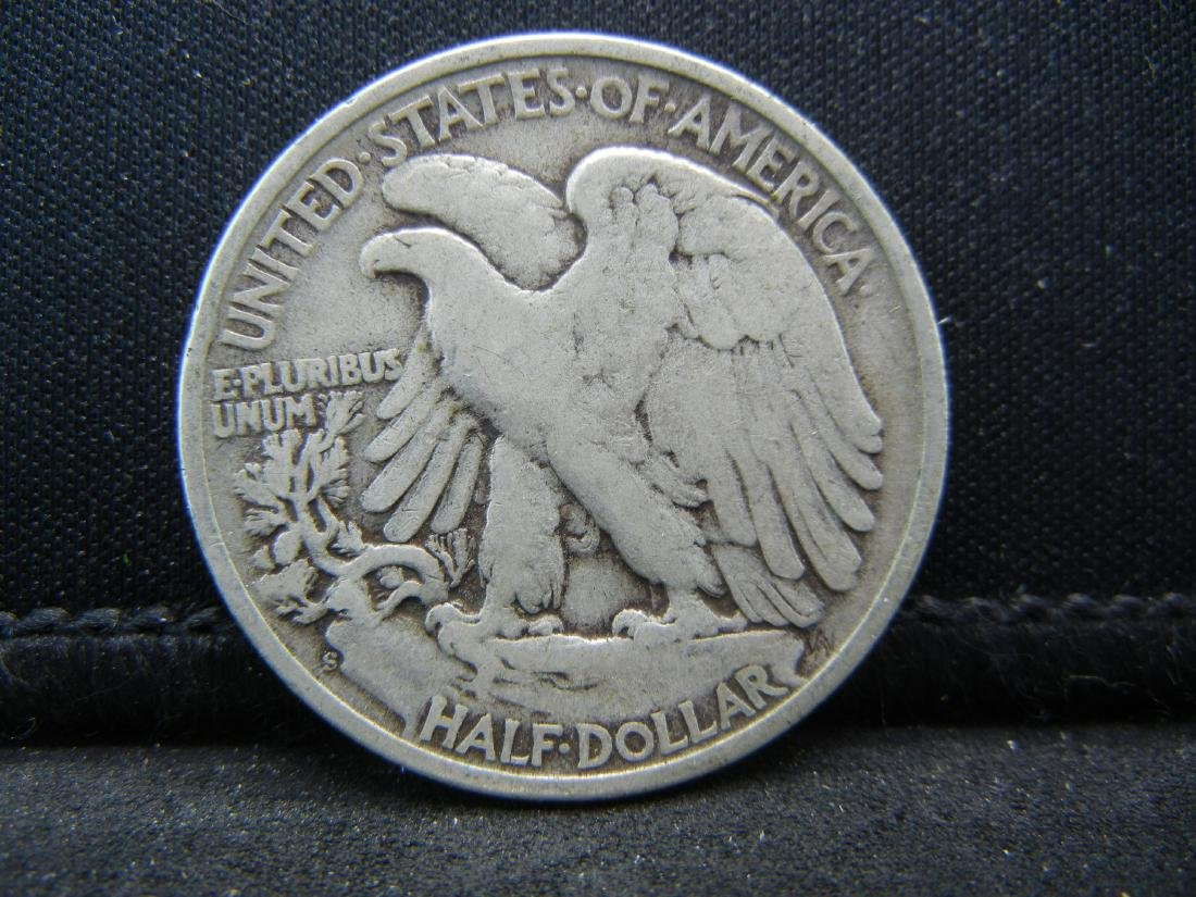 1945-S Walking Liberty Half Dollar - 2