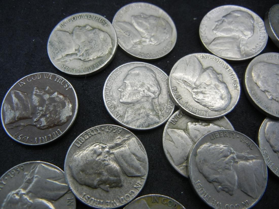 30 Mixed Date Jefferson Nickels - 2