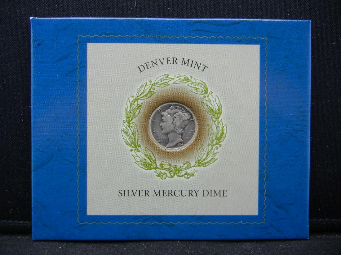 Rare Silver Winged Liberty Dime. Made in Danver during - 2