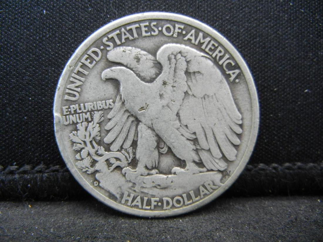 1946-D Walking Liberty Half Dollar - 2