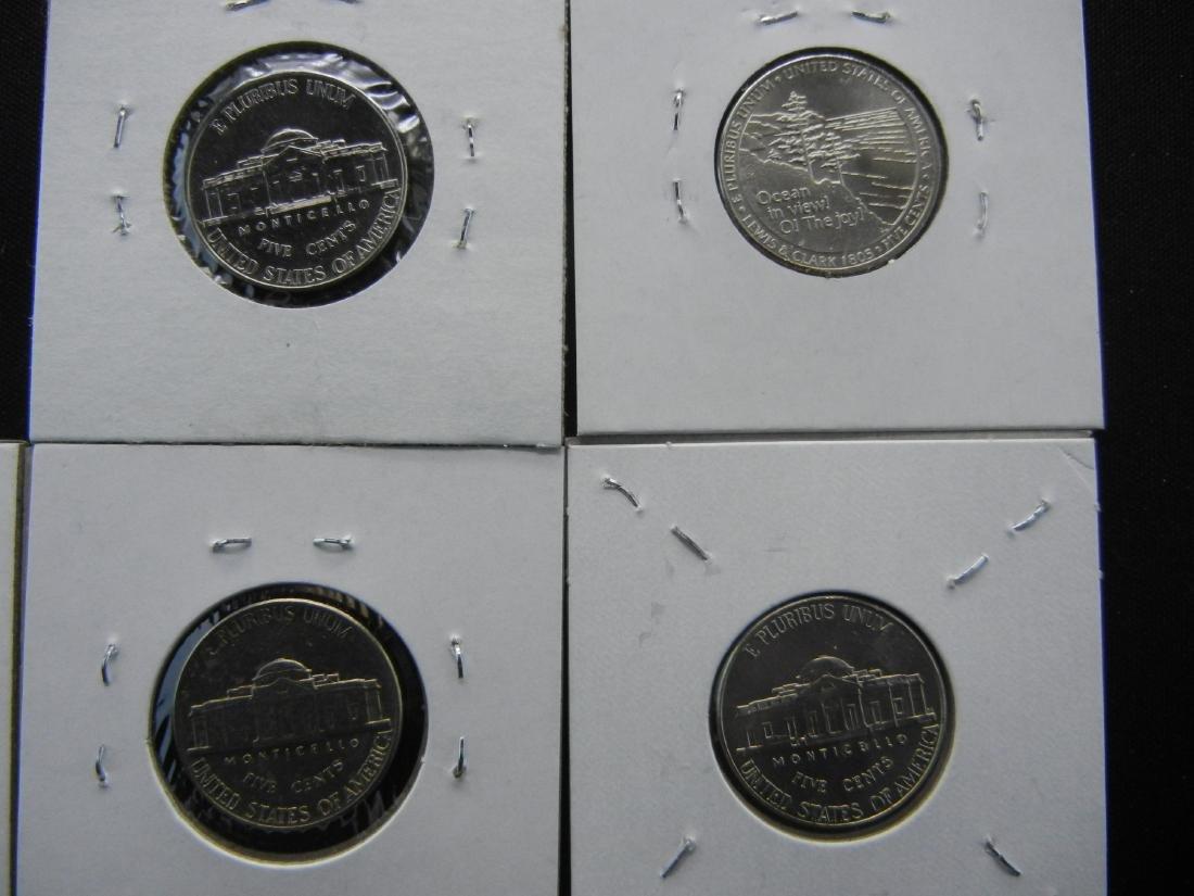 5 Jefferson Nickels High Grade - 5