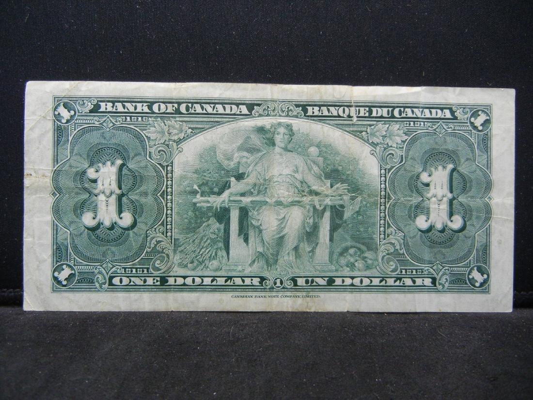 1937 VINTAGE Canada $1. George VI - 3
