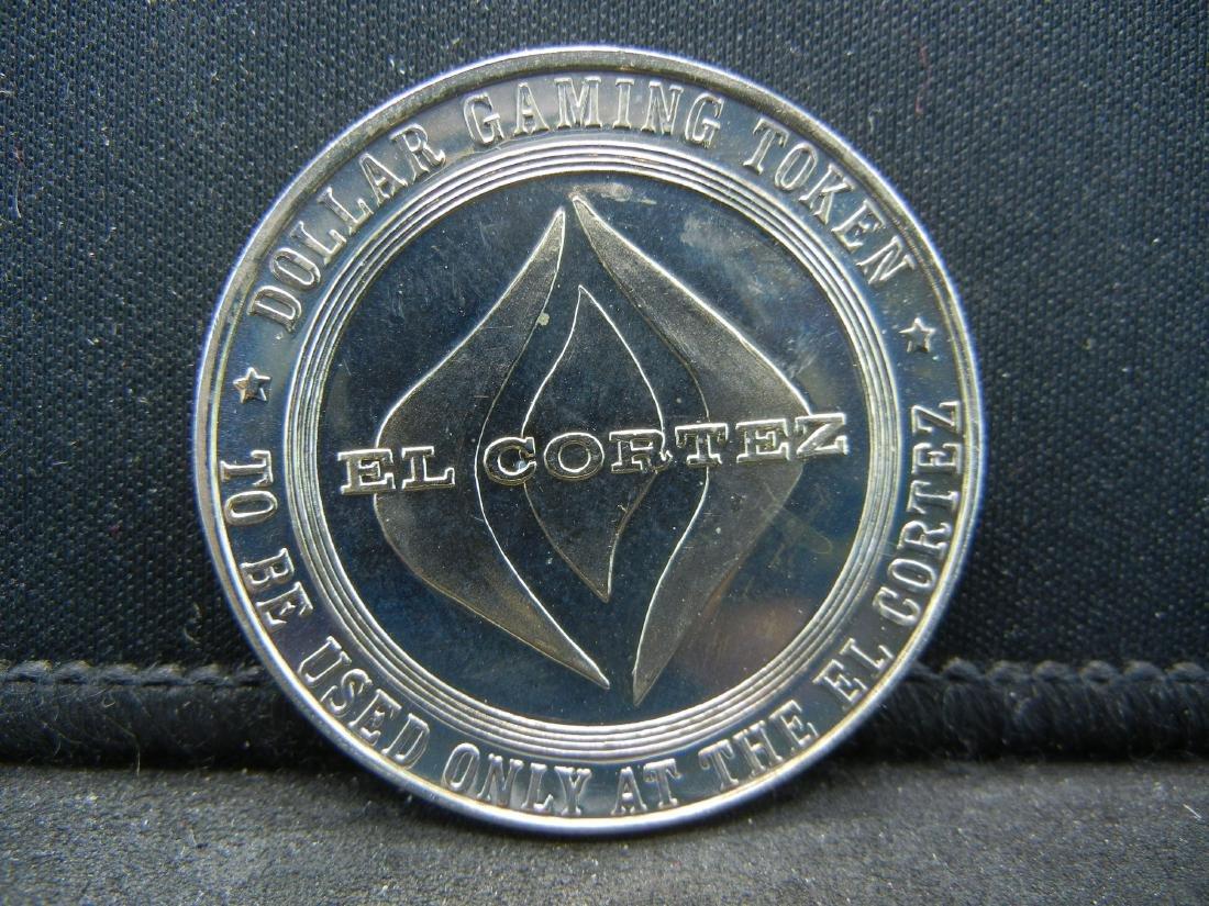 $1 Las Vegas El Cortez Hotel Casino Gaming Token.