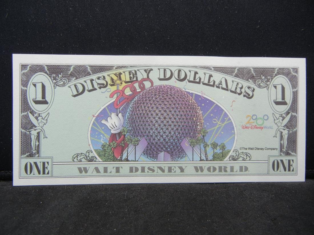 DISNEY $1. Gem Crisp Unc. SPARKLEY - 3