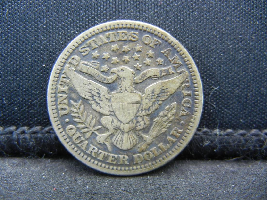 1903 Barber Quarter, Readible Liberty, Fine or Better - 2