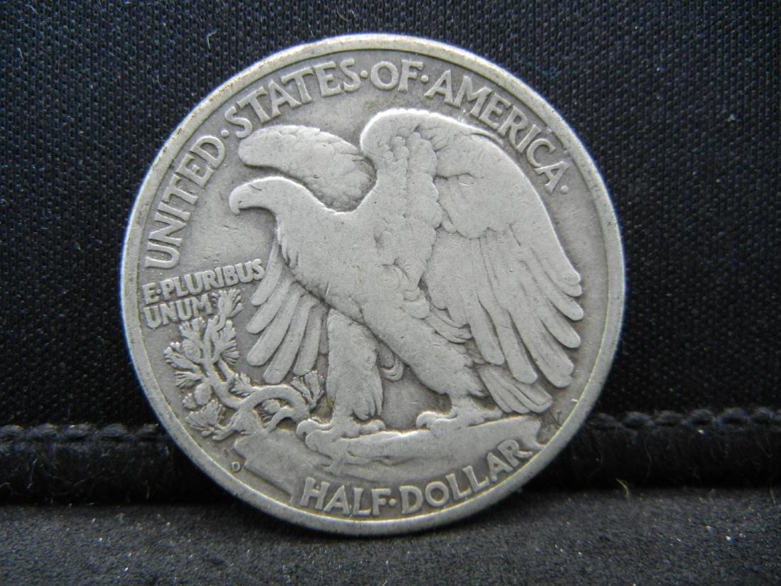1947-D Walking Liberty Half Dollar - 2