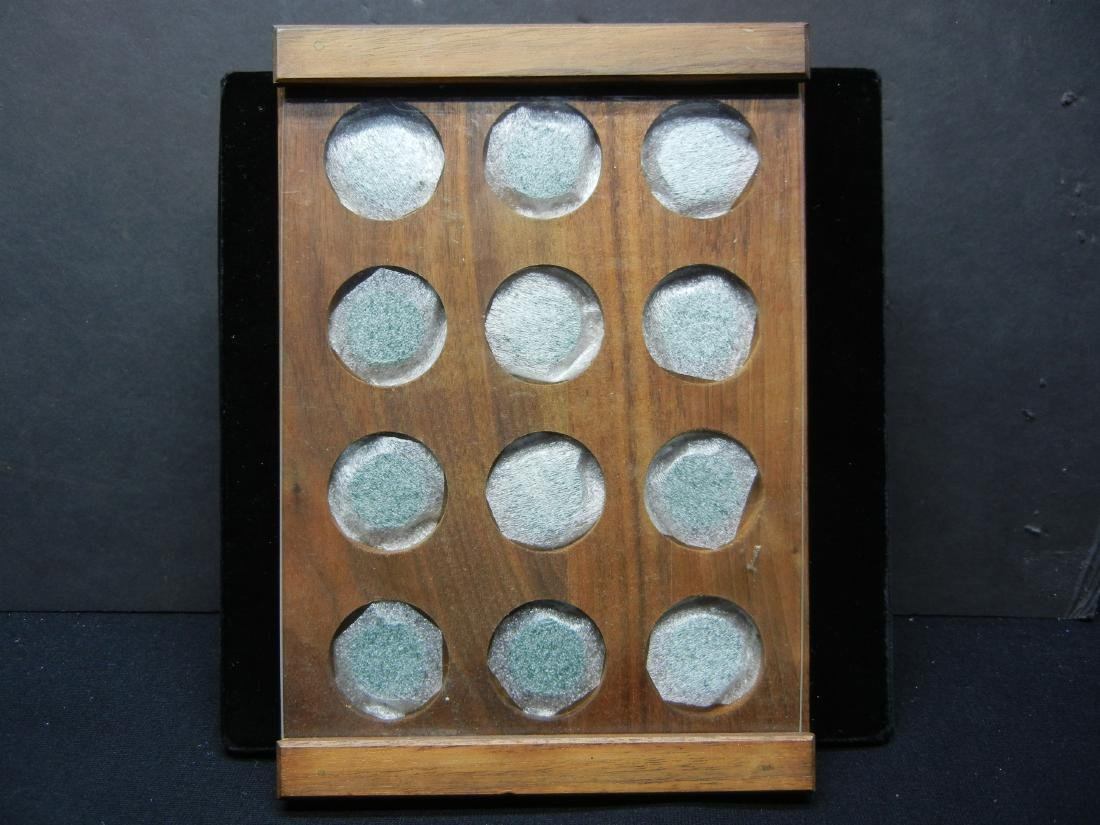 Nice wood coin display
