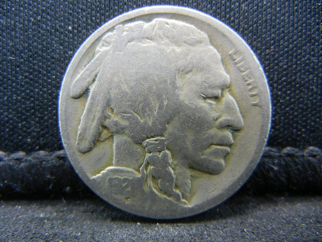 1921 Buffalo Nickel.