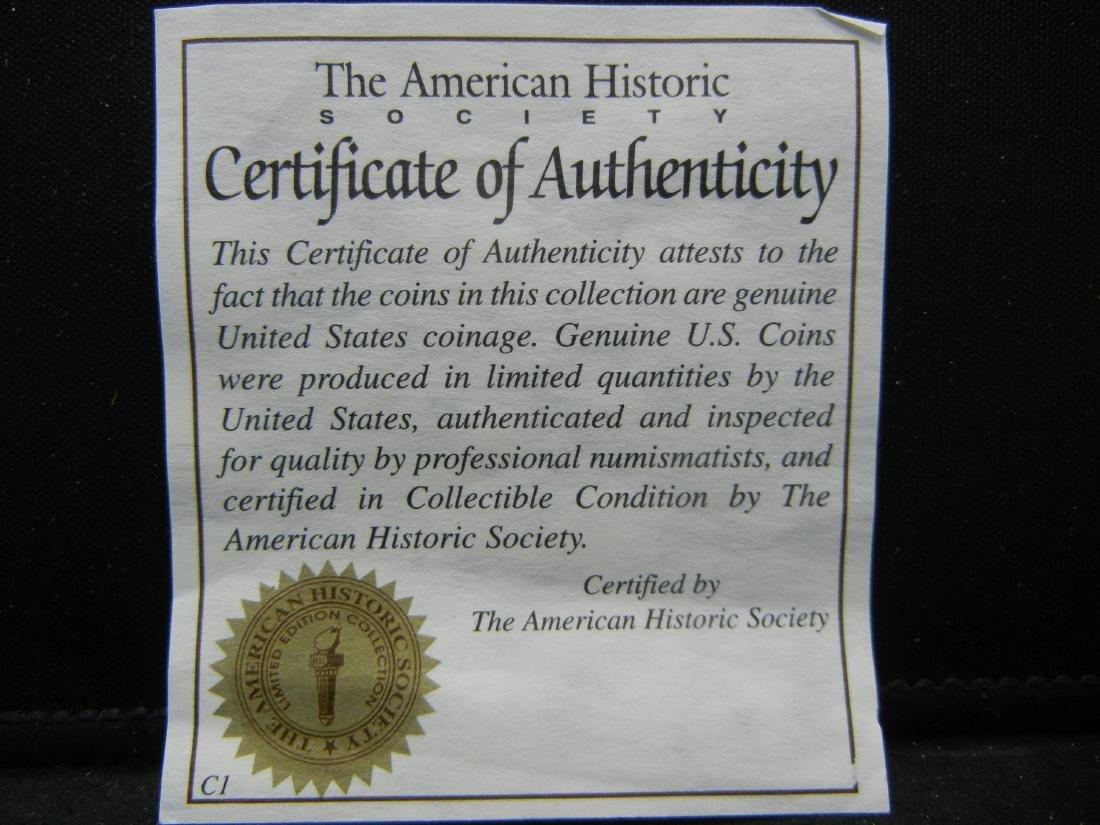 Space Shuttle COLUMBIA disaster Ike Dollar. Genuine - 4