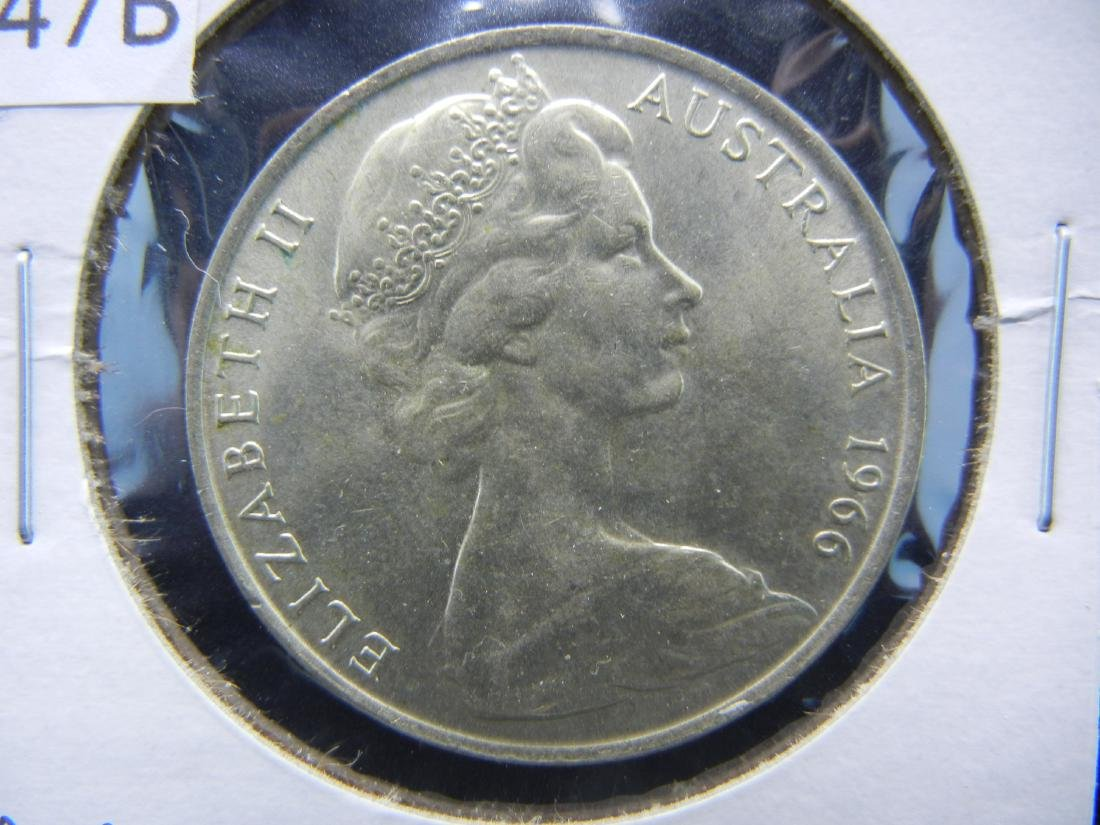 1966 50 Cents from Australia