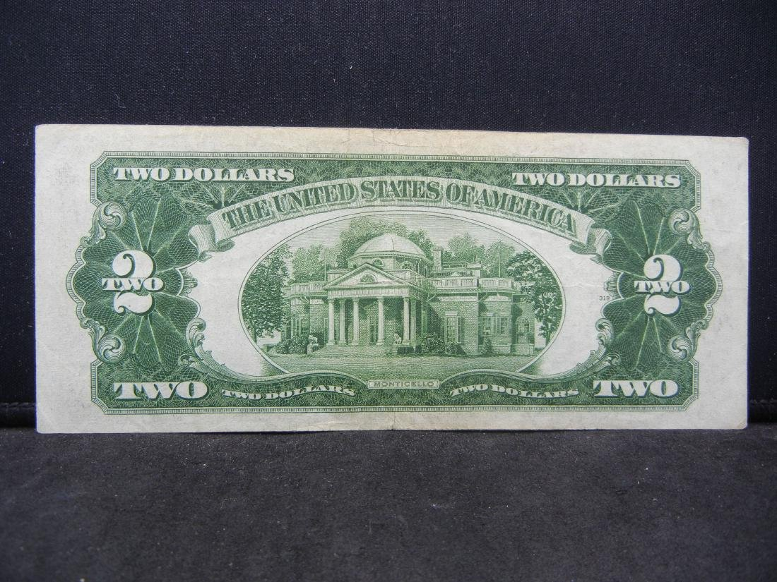 1928-D $2 Red Seal United States Note.  Serial # - 3