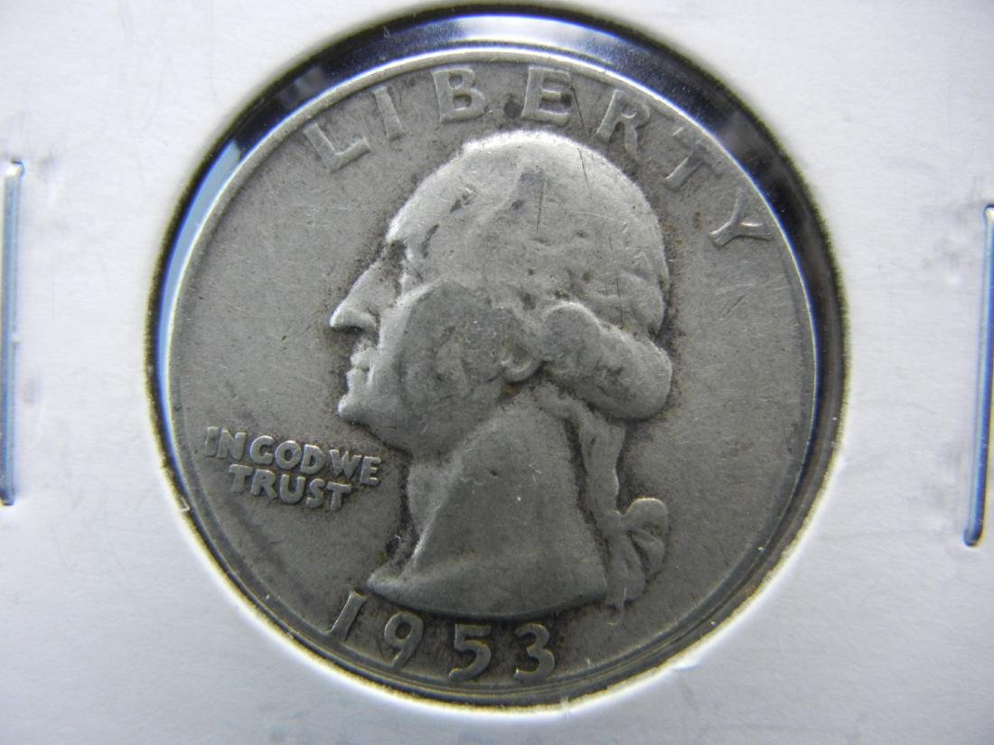 1953 Washington Quarter