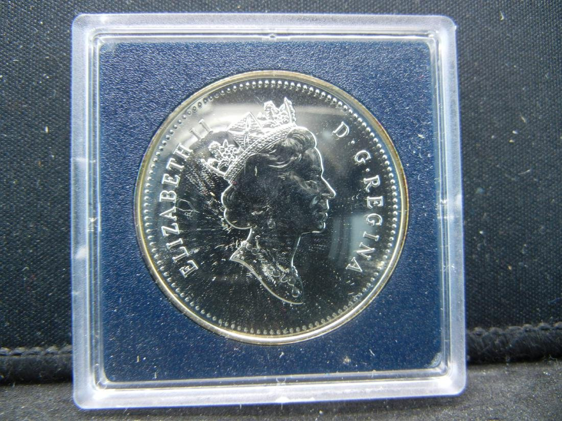 """1990 Canadian """"Henry Kelsey Tricentennial"""" Uncirculated - 3"""