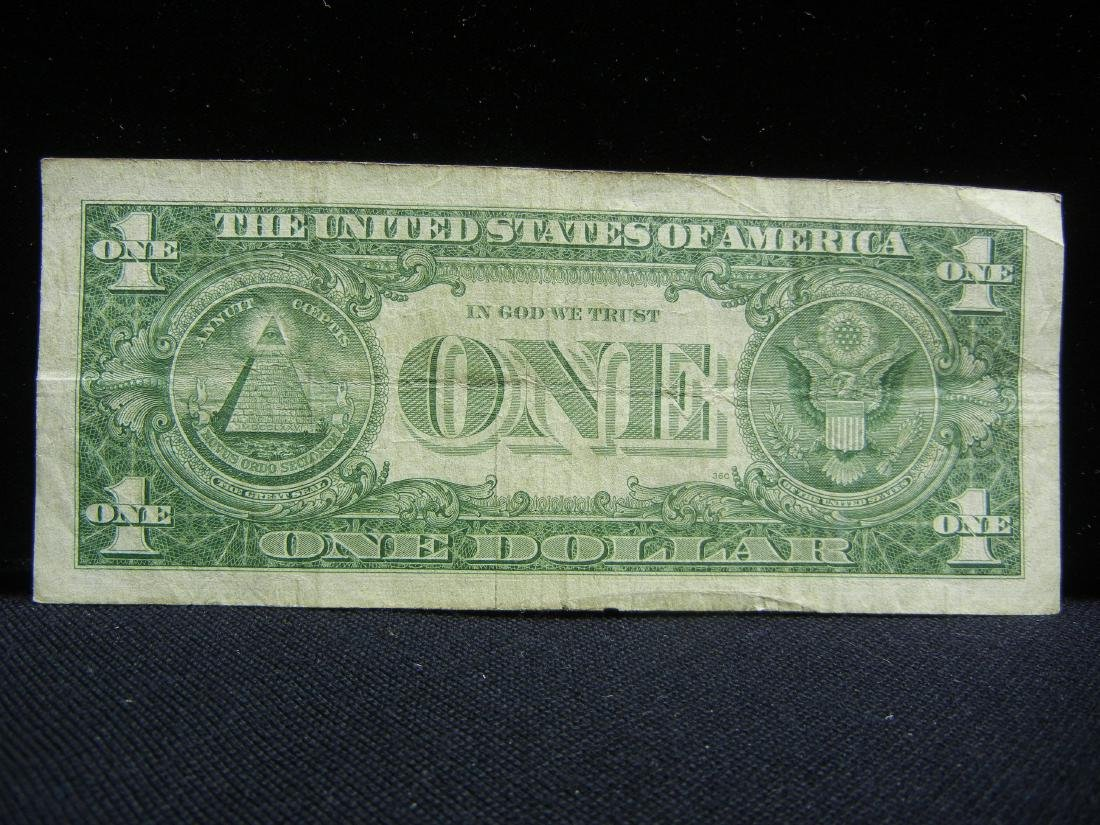 (4)1957-A $1 US Silver Certificates - 4