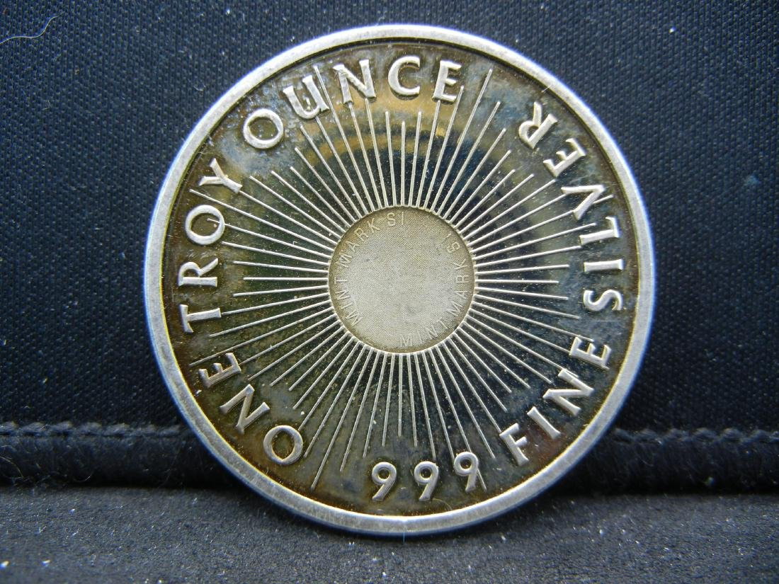 Sunshine Minting 1 OZ .999 Silver
