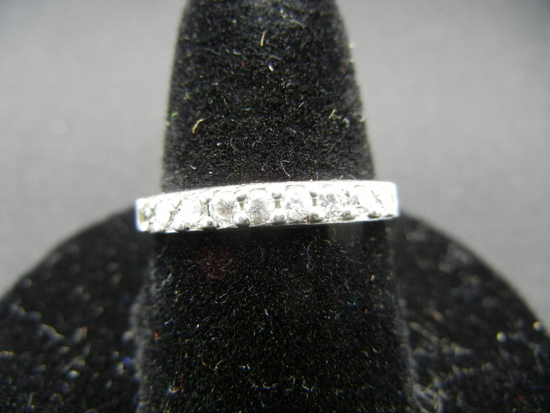 Sterling Silver Ring. Diamond look?