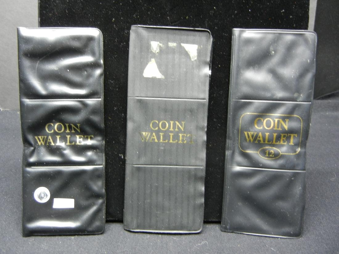 3 Coin Wallets