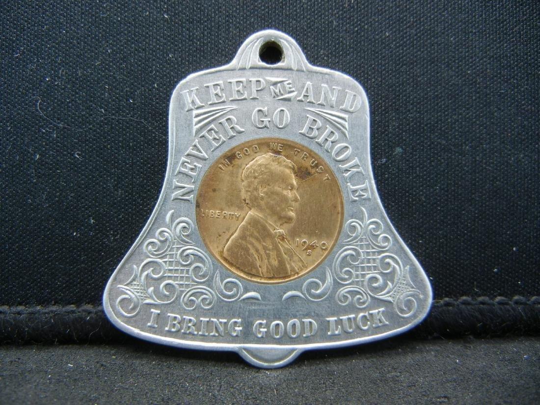 1940-S Washington DC Encased cent. GOOD LUCK!