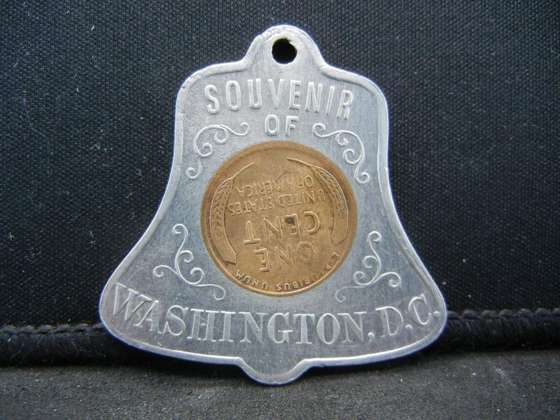 1940-S Washington DC Encased cent. GOOD LUCK! - 2