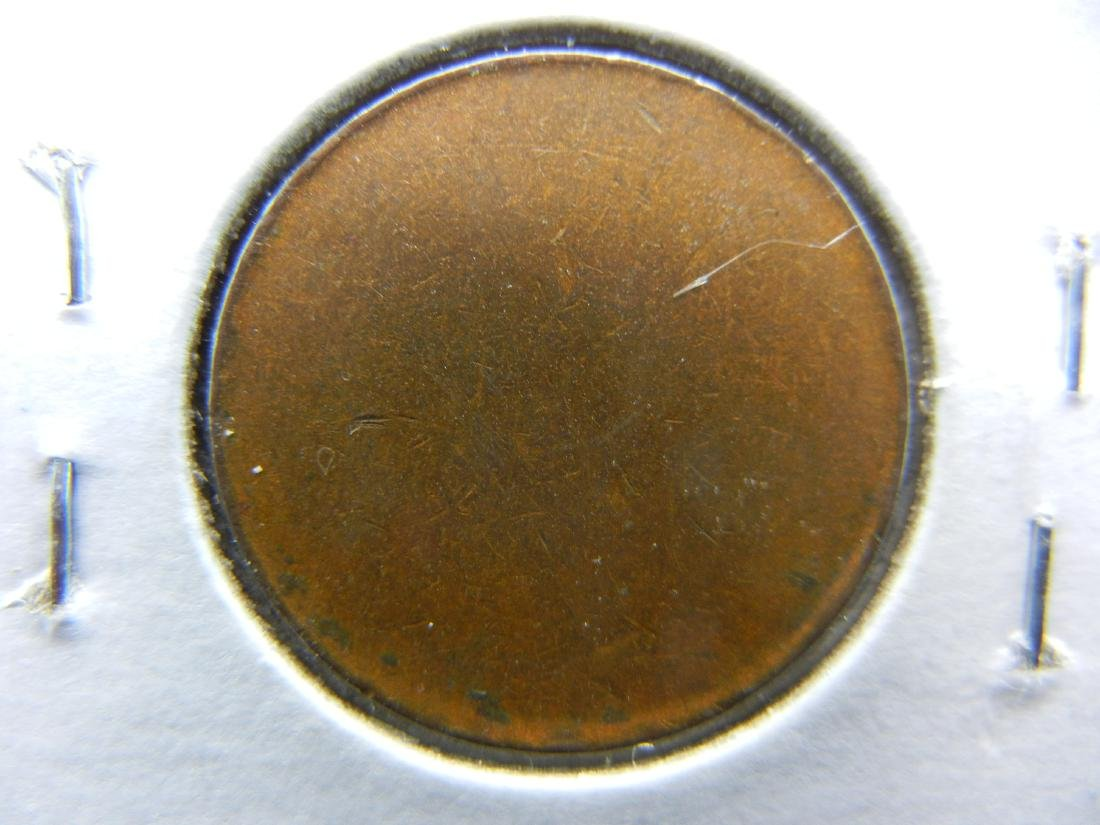 Bronze US cent blank planchet. RARE! - 2