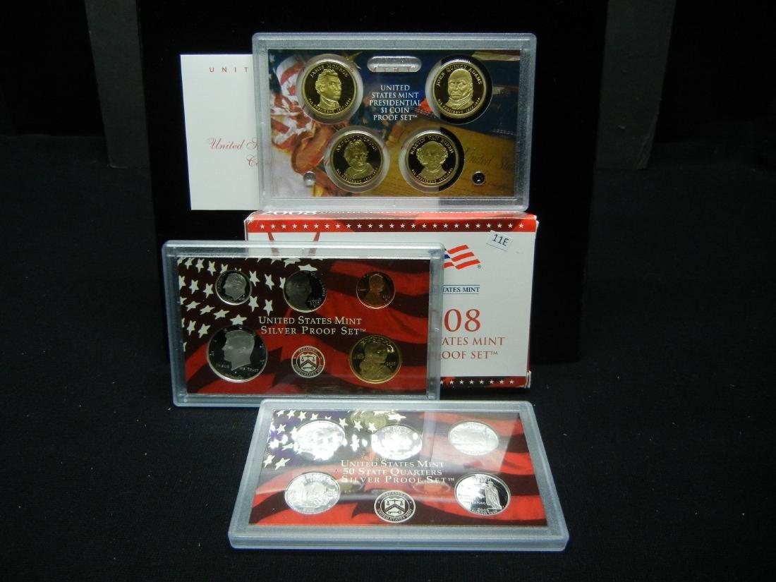 2008 US Mint Silver Proof Set
