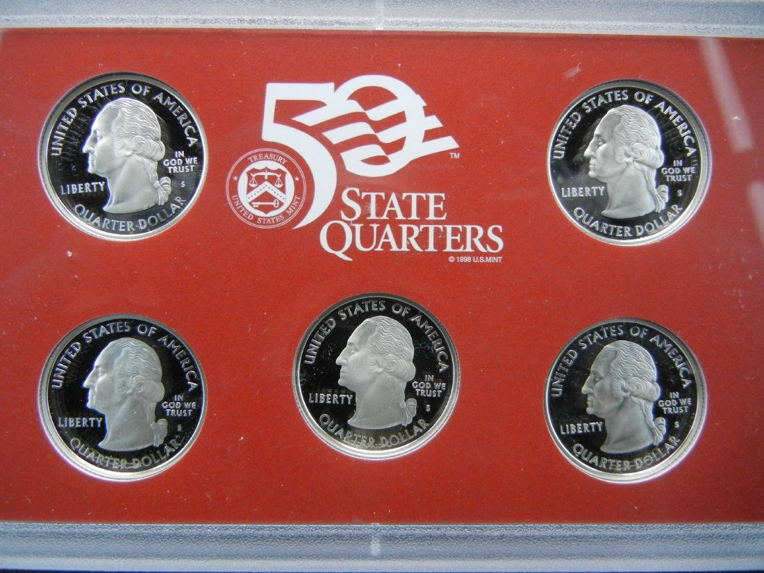 2008 US Mint Silver Proof Set - 3