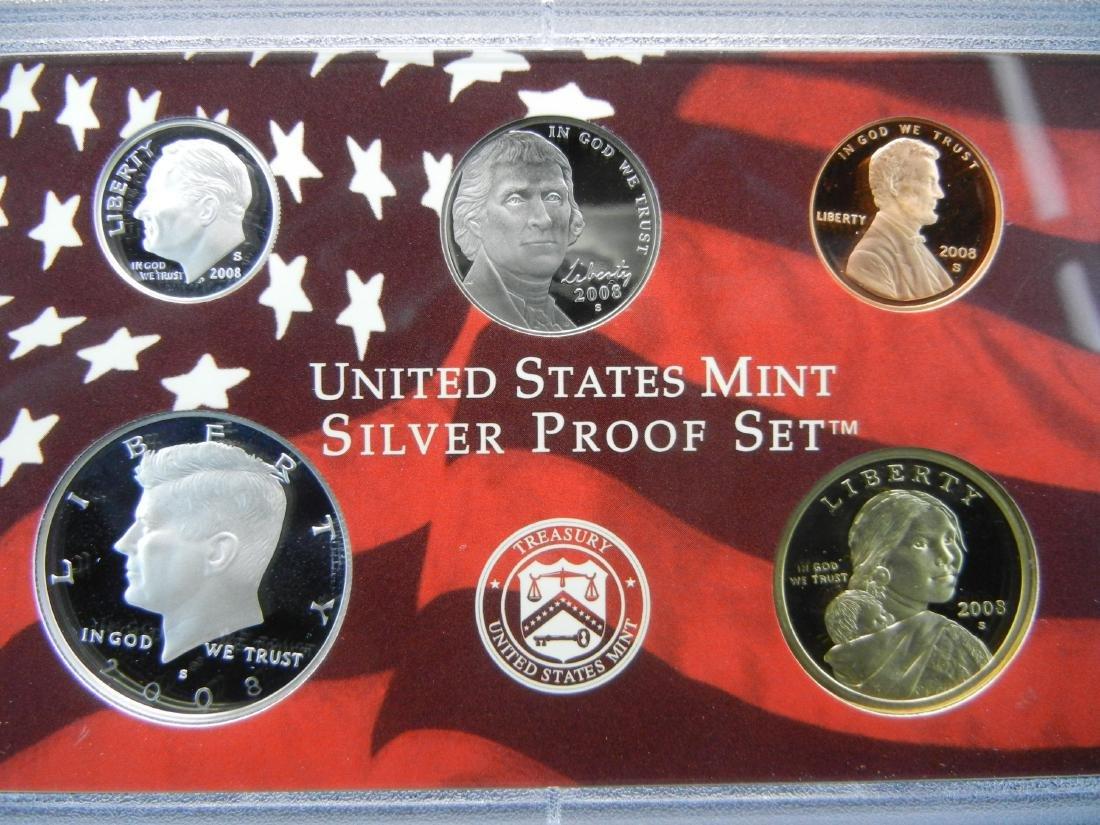 2008 US Mint Silver Proof Set - 4