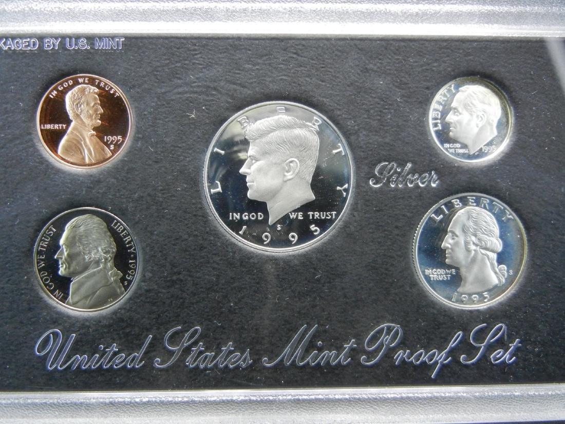 1995 US Mint Silver Proof Set - 2