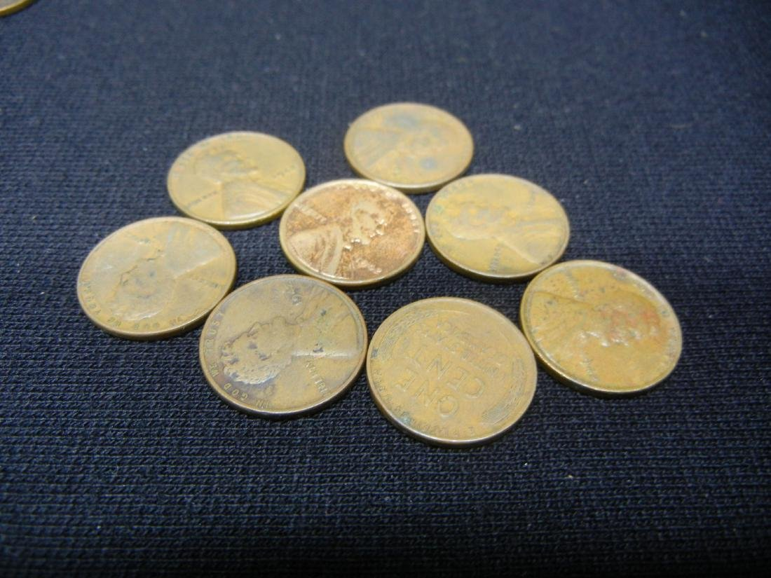 121 1940's Lincoln Wheat Cents - 6