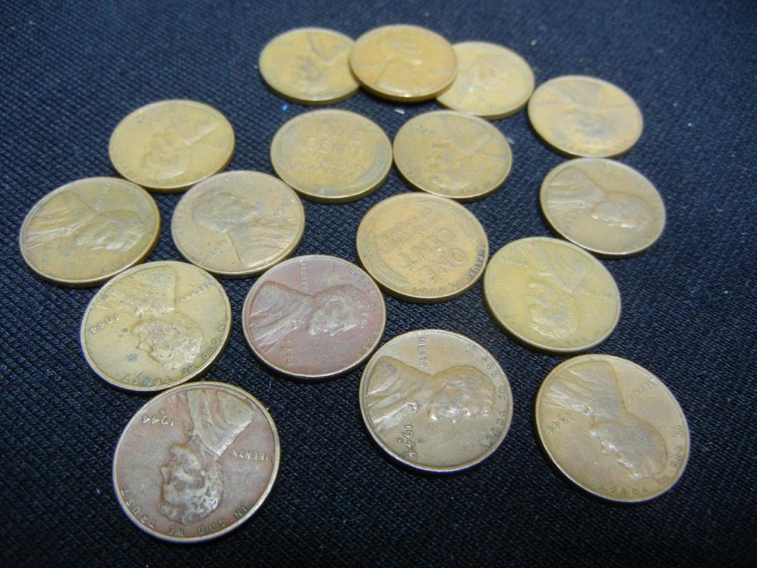121 1940's Lincoln Wheat Cents - 7